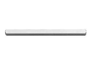 Krukstift 6mm vierkant, lengte 80mm zonder groef