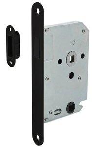 Intersteel Magneet Badkamer/Toilet slot 63/8mm Met Zwarte Voorplaat 20X175 mm