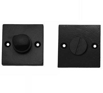 WC-sluiting 8 mm Vierkant IJzer zwart