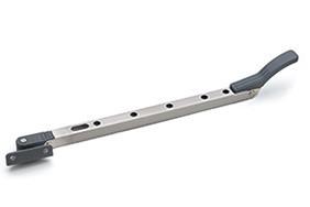 Raamuitzetter standaard 30 cm rvs antraciet