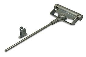 Deursluiter zwaarte 1 staal blank verzinkt