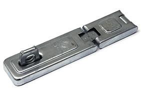 Kistoverval 160x35mm staal verzinkt 2 lamellenscharnier