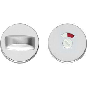 WC-sluiting 8mm rond verdekt aluminium