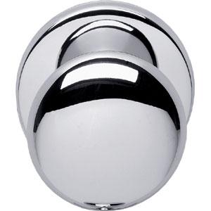Voordeurknop paddestoel 57/66 chroom