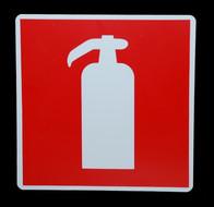 Kunststof aanduidingsbord brandblusser