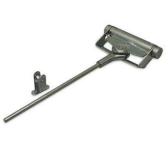 Deursluiter variabel instelbaar zwaarte 1-2 staal blank verzinkt