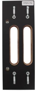 Losse freesmal tbv extra verdekt scharnier 160x32mm