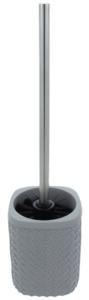 Differnz Wafel Toiletborstelhouder 340x92x92 mm Grijs