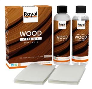 Shine & Fix Wood Care Kit + Cleaner