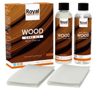 Matt Polish Wood Care Kit + Cleaner