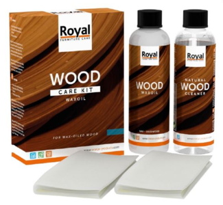 WaxOil Wood Care Kit + Cleaner