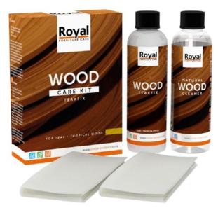 Teakfix Wood Care Kit + Cleaner