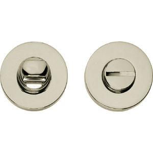 WC-sluiting 8mm rond verdekt nikkel