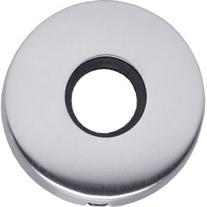 Rozet bol rond verdekt mat chroom