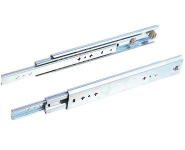 Paar ladegeleiders volledig uittrekbaar 45 cm