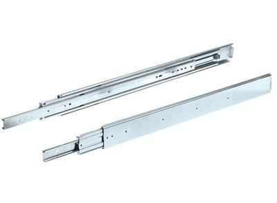 Paar ladegeleiders volledig uittrekbaar 121 cm