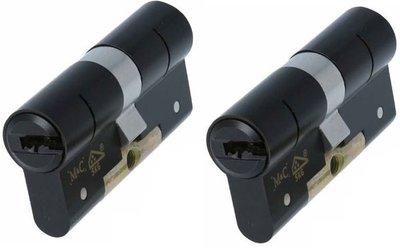 2x M&C Condor cilinder Zwart 30/30 SKG***