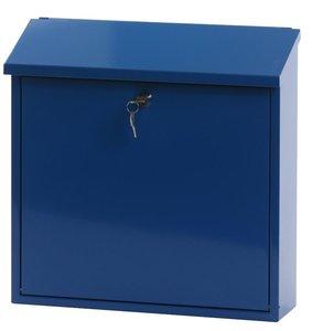 Wandbrievenbus Malagan Blauw