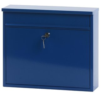 Wandbrievenbus Granadan Blauw