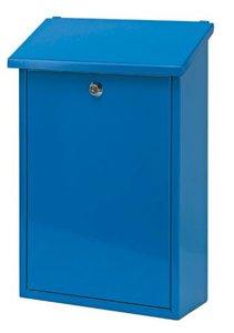 Wandbrievenbus Toledon Blauw