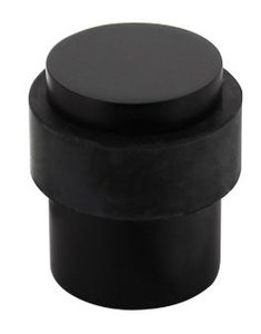 Deurstop Vloermontage ø30x40mm zwart