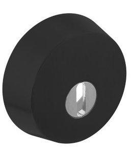 SKG3 Veiligheid-rozet + kerntrekbeveiliging voor oplegsloten RVS/Zwart