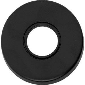 Rozet rond verdekt mat zwart