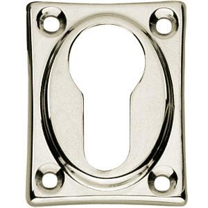 PC-plaatje vierkant verlengd nikkel