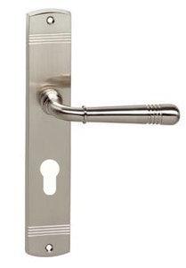 deurkruk op schild