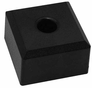 Meubelpoot kunststof vierkant 50x50 mm