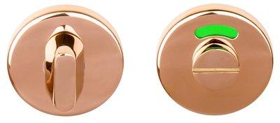 Toiletgarnituur BASIC LBWC50 8 mm PVD Gepolijst Koper