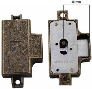 MLM Goldin Spanjoletslot 25 mm Links Brons