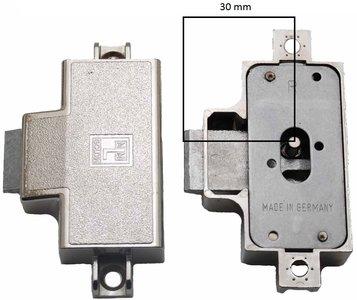 MLM Goldin Spanjoletslot 30 mm Rechts Vernikkeld