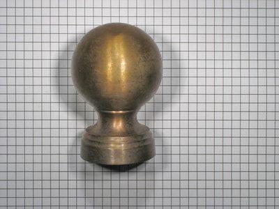 Deurknop Brons Antiek.Deurknop Brons Antiek 50 Mm Scherp Geprijsd