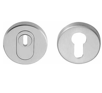SKG*** Veiligheid-Rozet Met Kerntrekbeveiliging Mat RVS