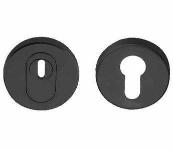 SKG*** Veiligheid-Rozet Met Kerntrekbeveiliging PVD Gunmetal