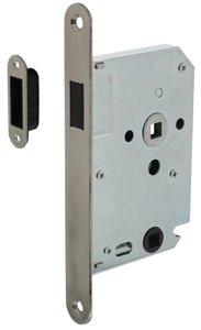Intersteel Magneet Badkamer/Toilet slot 63/8mm Met RVS Voorplaat 20X175 mm