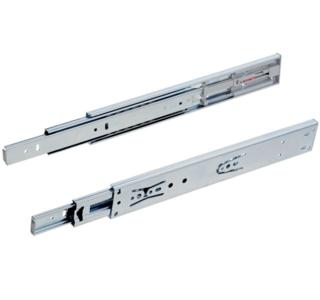 Paar ladegeleiders softclose volledig uittrekbaar 55 cm