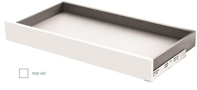 Slimbox ladeset Hoogte 80mm Diepte 550mm Mat Wit Softclose