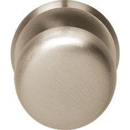 Voordeurknop zwaar 80/75mm nikkel mat