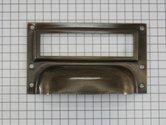 Etiketgreep-messing-gebruineerd-73-x-42-mm