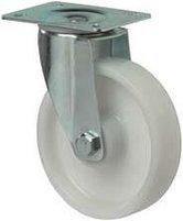 Kunststof-zwenkwiel-wit-rond-80-mm