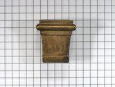 Stoelpoothuls brons antiek